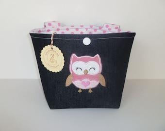 """Handlebar Bag """"Owl"""""""