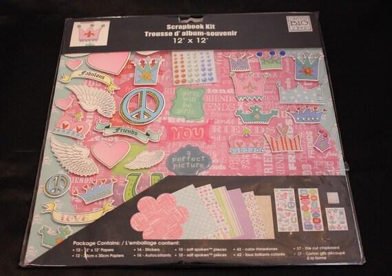 Trousse D Album Scrapbook Kit Home Scrapbooking Kit Me Etsy