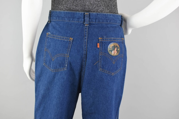 70s Levi's Orange Tab Denim Jeans Vintage, 70s Wi… - image 8