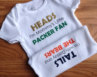 CUSTOM House Divided Baby Bodysuit