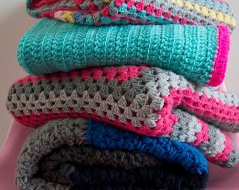 Pattern Granny Square blanket