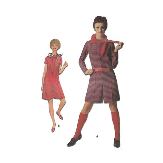 Women\'s Pantdress / Romper Sewing Pattern Misses Size 14   Etsy