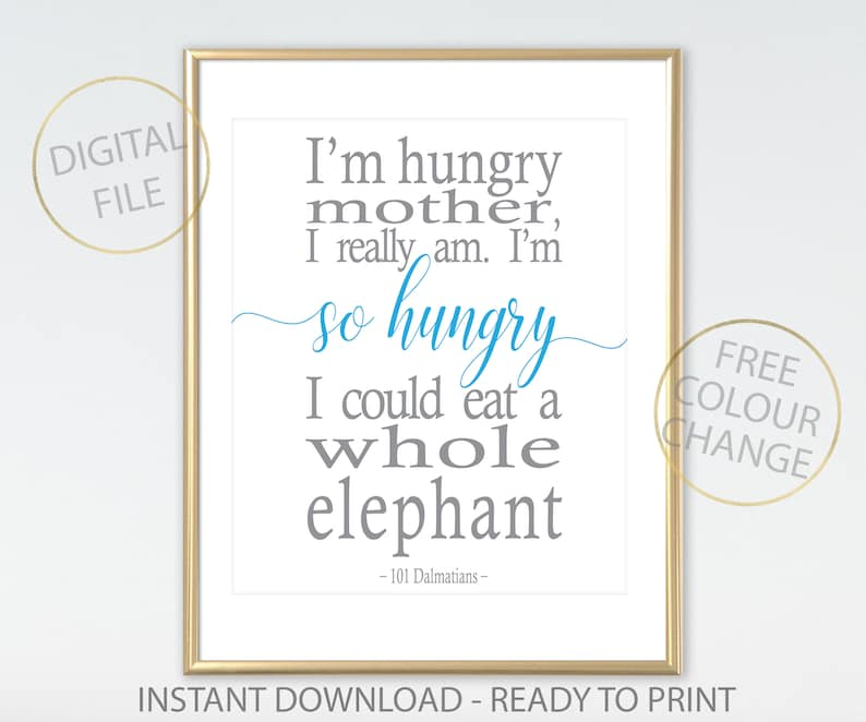 101 Dalmatians Quote Nursery Printable Disney Quote From 101 Etsy