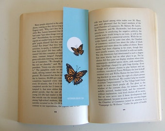 Monarch Butterfly - Bookmark - Animal Collection