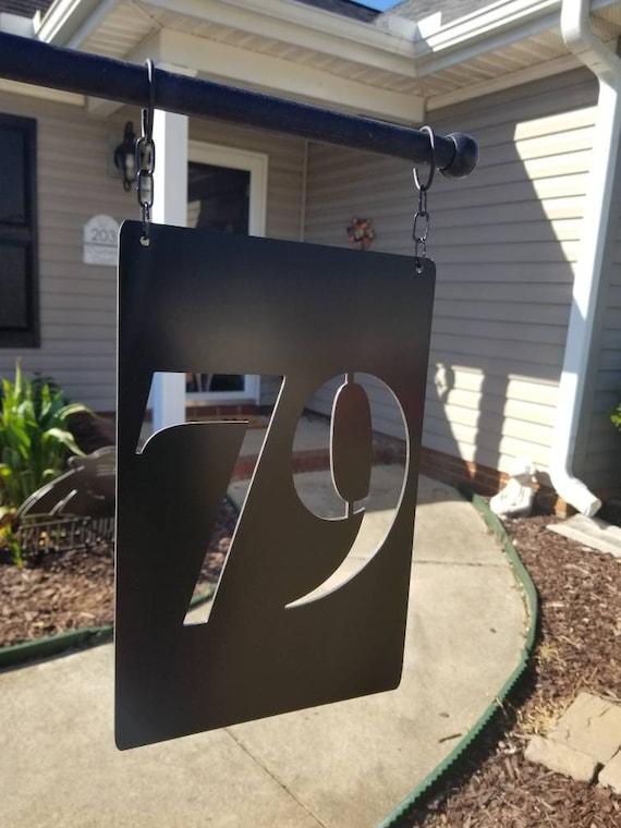 Lamp Post Address Plaque House, Lamp Post Address Sign