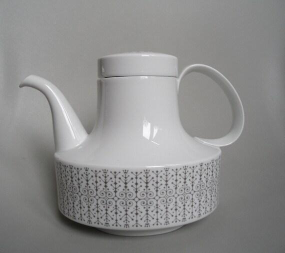 """,Eisblume/"""" Kaffeetasse mit Unterteller// Design ROSENTHAL Studio line"""