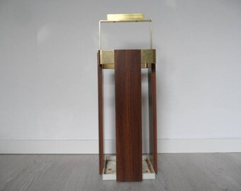 Vintage umbrella stand,umbrella holder,umbrella rest,VIntage small furniture,metal umbrella stand with metal base