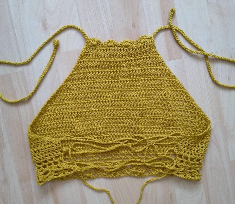 crochet top summer top croptop Crochet top