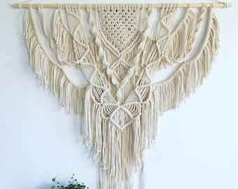 SPIRIT Macrame Wall Hanging | Bohemian Wall Decor | Wall Tapestry | Modern Macrame | Boho | Macrame Tapestry | Wall decor
