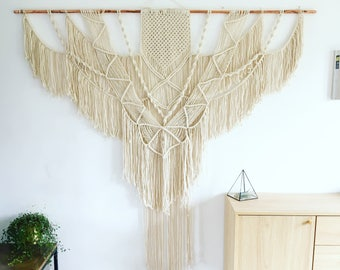 X Large SPIRIT Wedding Macrame Wall Hanging | Bohemian Wall Decor | Wall Tapestry | Modern Macrame | Boho | Macrame Tapestry | Wall decor