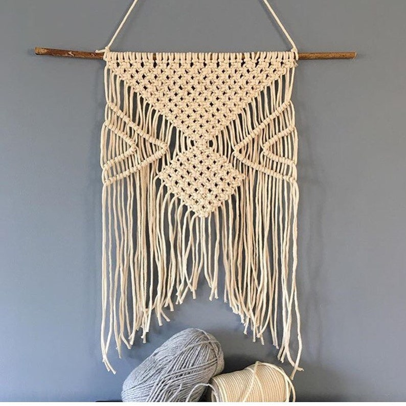 Sale 20 Off Macrame Wall Hanging Wall Tapestry Modern Etsy
