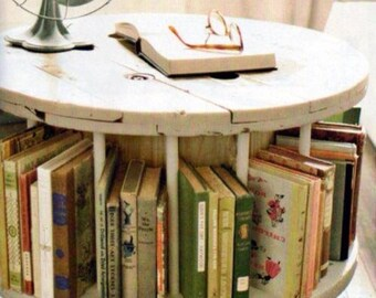 Coffee table book storage
