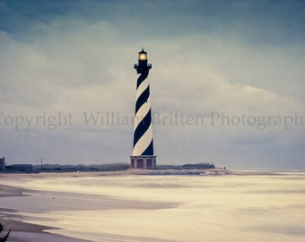 Cape Hatteras Lighthouse Digital Download Stock Photography - screen saver - computer wallpaper from William Britten