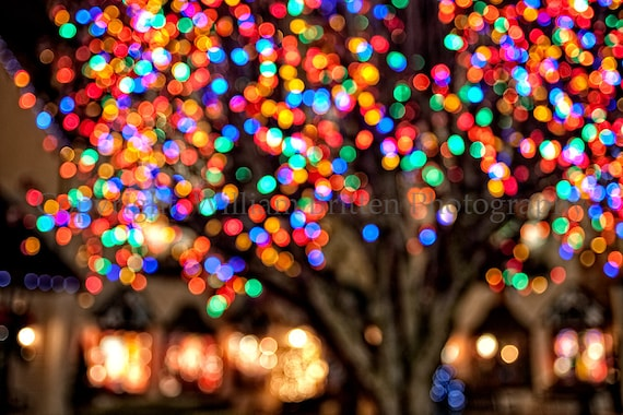 Christmas Lights Background Digital Download - Fine Art Photography -  screen saver - computer wallpaper from William Britten - Christmas Lights Background Digital Download Fine Art Etsy