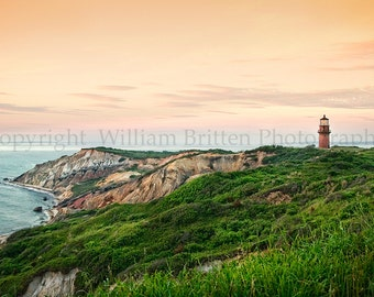 Gay Head Lighthouse Digital Download Stock Photography - screen saver - computer wallpaper from William Britten