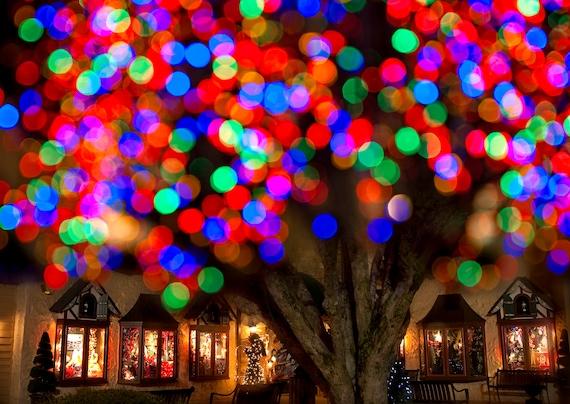 image 0 - Christmas Lights Background Digital Download Fine Art Etsy