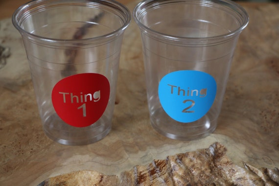 C-32 Bird 24 Little baby  Bird clear disposable party cup or 20 decals.Baby Shower,birthday party,party cups,Gender Reveal,Party Decor