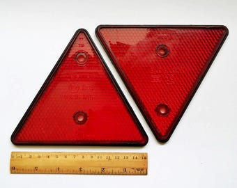 POLICE Stop Reflector Manual Car Traffic Control Plod Tool Vintage Memorabilia Historic Hand Held Light Red Alert Emergency Train Control