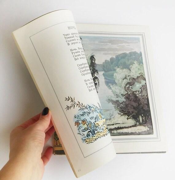 Jessenin Gedichte Für Kinder Vintage Russischen Kinderbuch