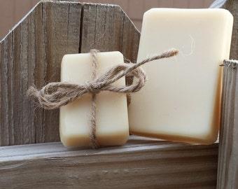 Handmade Unscented Goat's Milk Soap