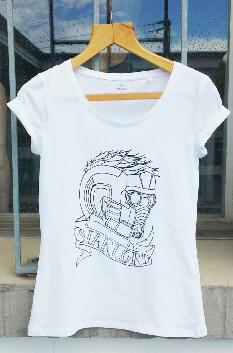 Starlord T-Shirt  Screenprint image 0