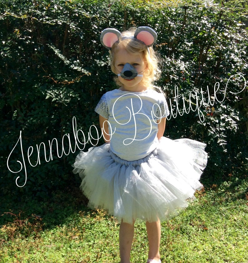 mouse birthday party mouse halloween costume Mouse tutu costume animal costume birthday party mouse skirt mouse tutu