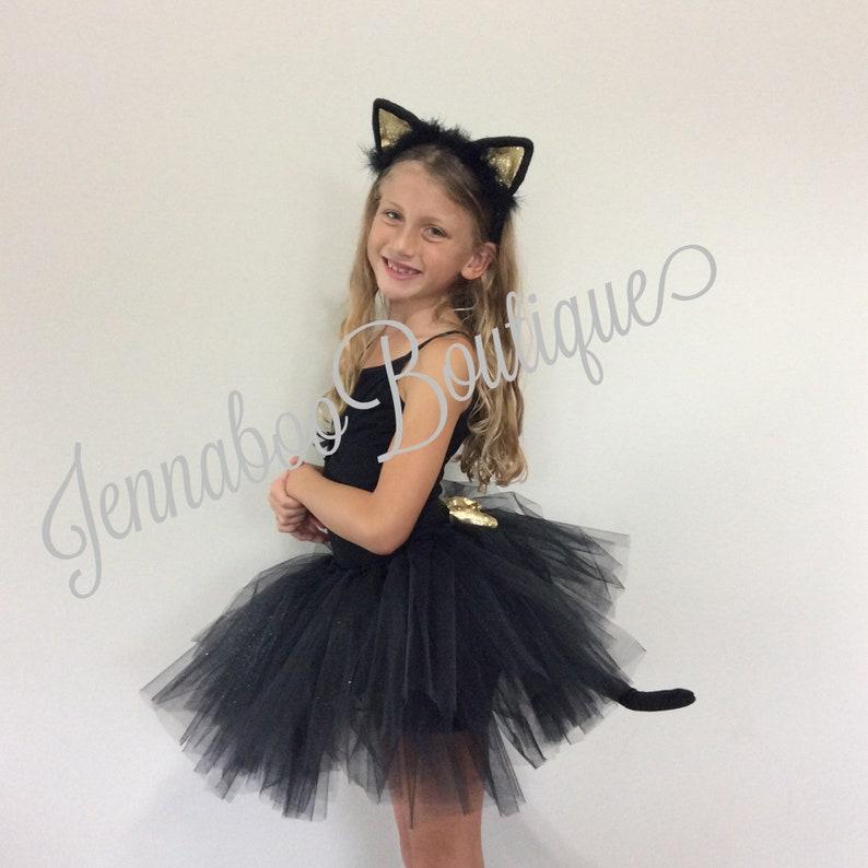 black gold cat costume,adult cat costume black cat tutu girl cat costume baby cat costume Cat costume halloween cat costume silver cat