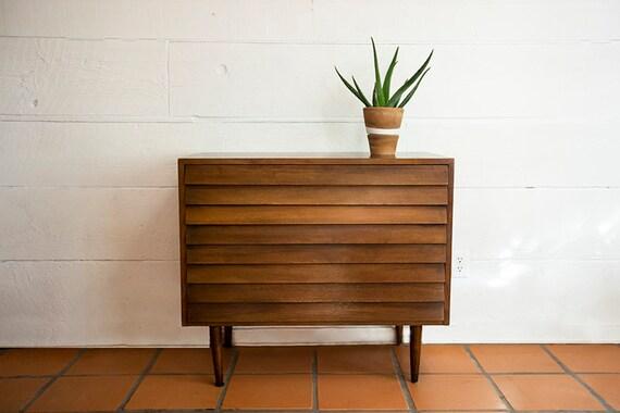 Mid Century Modern 3 Drawer Dresser Sideboard American of Martinsville Vintage MCM