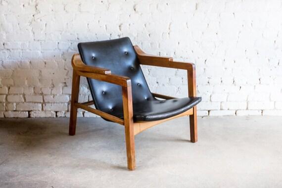 Mid Century Tove & Edvard Kindt-Larsen Fireplace Lounge Chair Danish Modern
