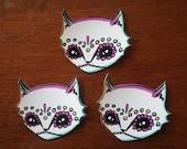 Dia de los Meowtos Stickers