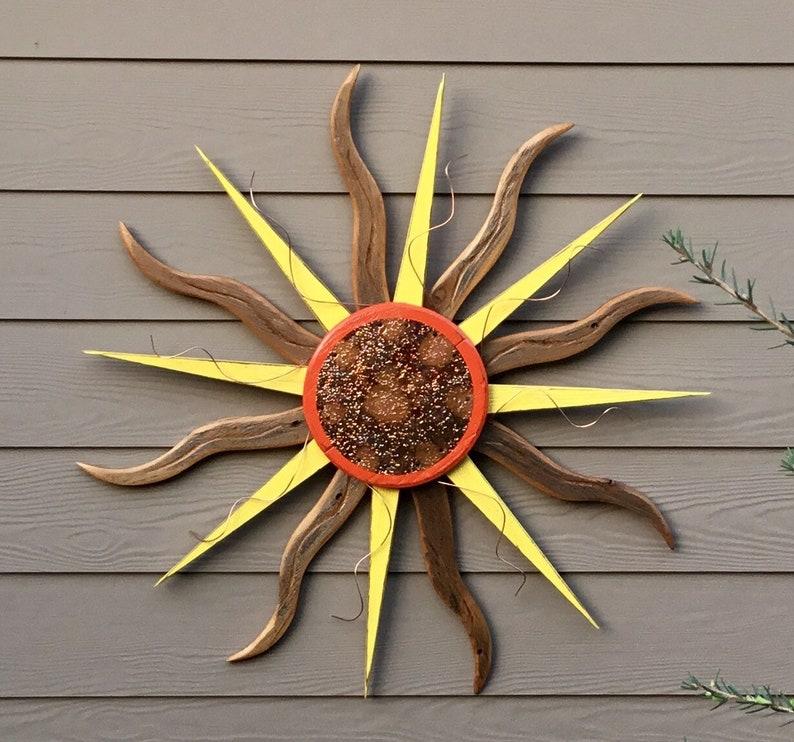 You Are My Sunshine Sun Wall Art Sun Wall Decor Sun Decor Sunburst Sunshine Sunrise Wood Sun Beach Decor Wood Signs Sun