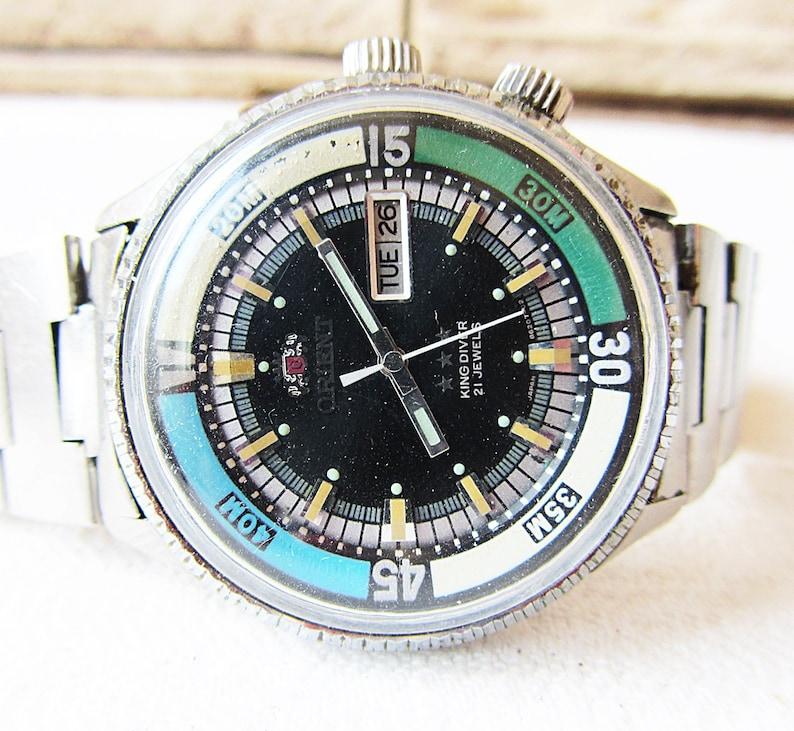960388894316 Rara Vintage Orient King Diver Automatic 21 joyas muñeca