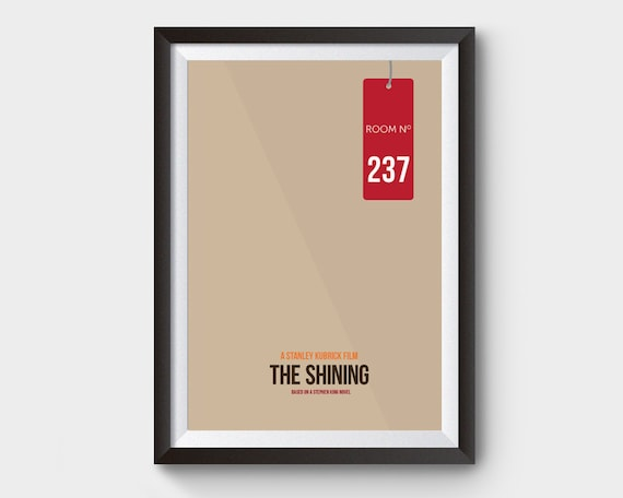 A4 A3 A2 A1 A0| The Shining Horror Movie Poster Print T348
