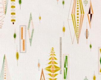 ATOMIC 1950s 60s Original designed Mid Century Vintage Fabulous Wallpaper