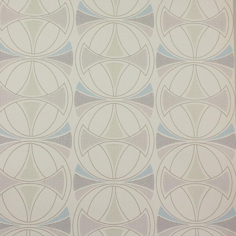 Siglo Geométricas Mod Original Wallpaper Década 1970 Danés Líneas Moderno Mediados De La A Linnea ON8nwXPZ0k