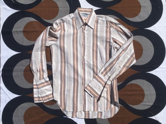 1980s long-sleeve french-cuff shirt with the best