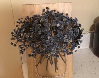 Mason Jar String Art, Wall Hanging, Flowers, Gerber Daisys, String Art