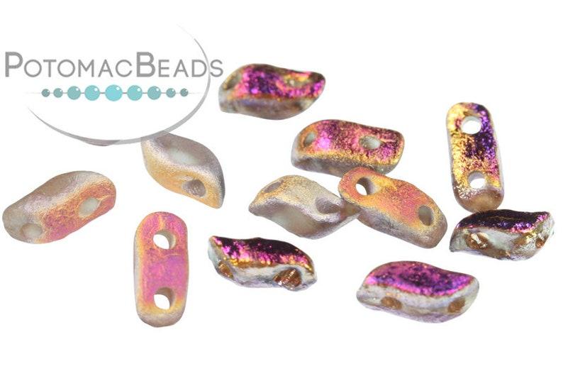 Crystal Etched Sliperit Full 7x3mm StormDuo\u00ae Beads Pack of 600