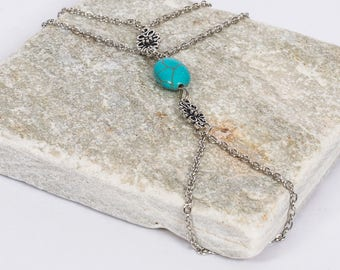 Turquoise Festival Hand Chain