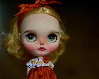 Dolls & Bears Ooak Custom Blythe Doll By Pliskytrix.
