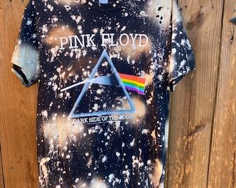 Pink Floyd bleached tee