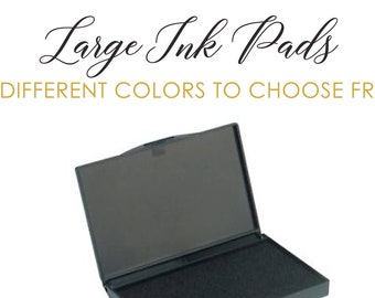 """Large 7""""x4"""" Ink Pad 