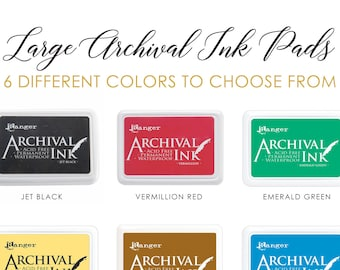 """Large 6""""x4"""" Archival Ink Pad 