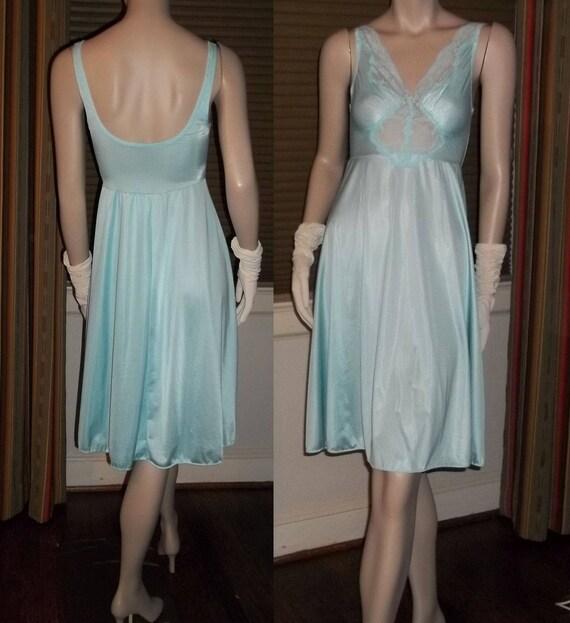 Olga Bodysilk Waltz Length Nightgown Negligee Spandex Bodice  185e8621c