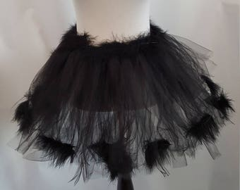 Adult Black Swan Tutu, Black Bird Tutu, Black Swan Costume, Black Bird Costume, Black Swan Ballet, Photo Prop Tutu, Halloween Costume, Tutu