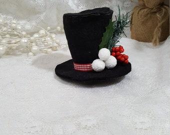 4fcf6b8250665 Frosty the Snowman Tiny Top Hat