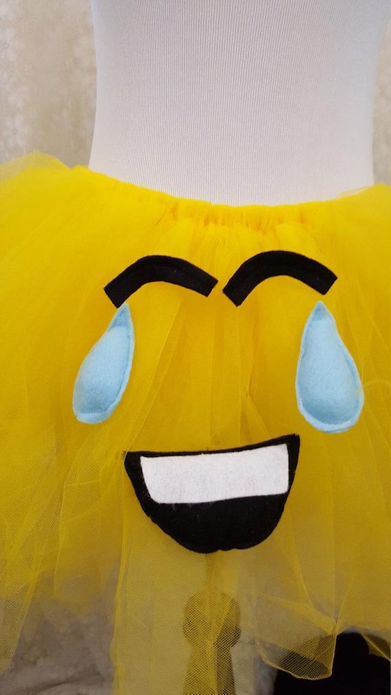 Kind Weint Mit Lachen Emoji Tutu Emoji Foto Prop Emoji Halloween Kostum Kuchen Zerschlagen Tutu Geburtstag Partei Tutu Lachen Emoji Tutu