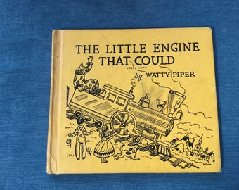 Watty Piper. The Little Engine That Could. Vintage copy