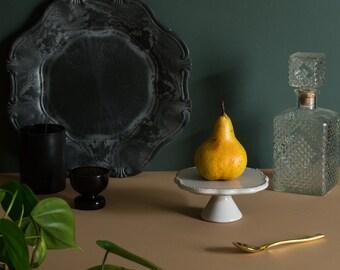 Bosc Pear, Peach tone, Low light, Ripe Fruit, Food, Art Photography, Fresh Fruit, Still life (Unframed)