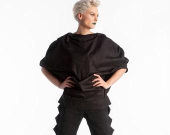 280dd61f1edd1 Black gothic blouse